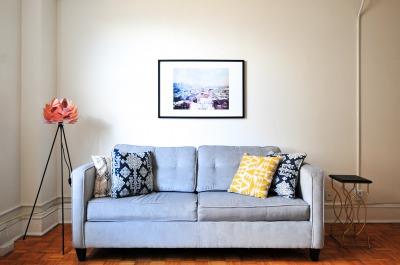 2人掛けソファの画像