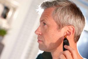 フィリップスの鼻毛カッター 耳毛処理の画像